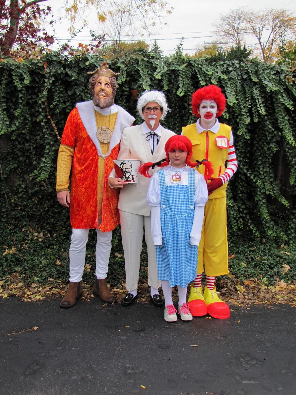 Wendy Fast Food Halloween Costume