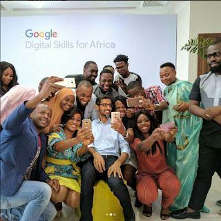 CEO of Google Sundar Pichai visits Lagos,Nigeria