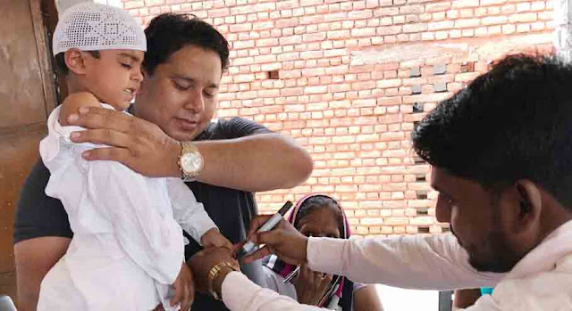Muslim community started to become ally in the Khasra Rubella vaccination program at Palwal