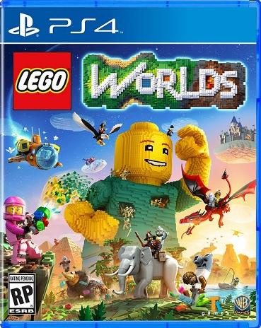 LEGO WORLDS - cusa 02985 usa ps4 | PS4 games mods tools