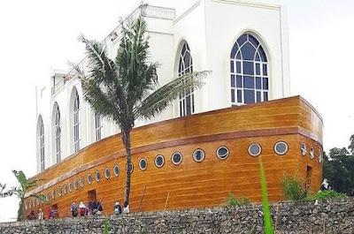 Lokasi Masjid Kapal Nabi Nuh di Semarang