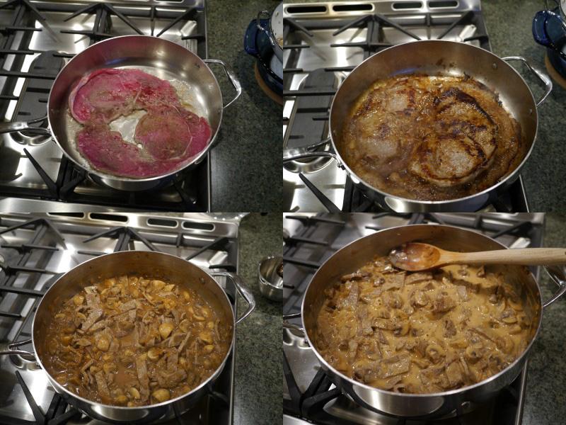 America Test Kitchen Beef Stroganoff