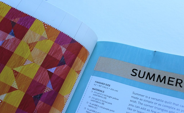 Summer quilt from Quilt Giving book