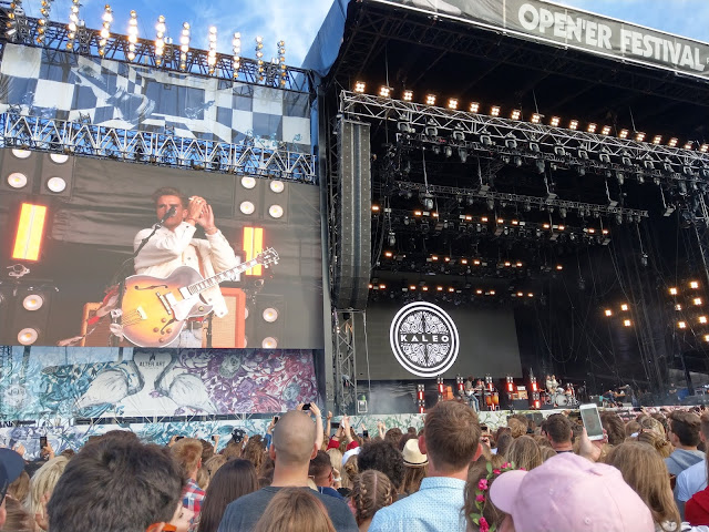 Kaleo, Open'er Festival 2018