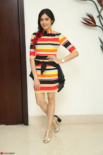 Adha Sharma in a Cute Colorful Jumpsuit Styled By Manasi Aggarwal Promoting movie Commando 2 (190).JPG