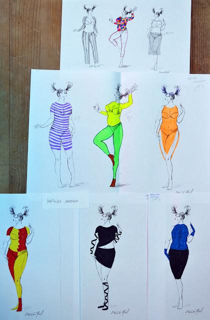 Recherches Styliste de Mathilde