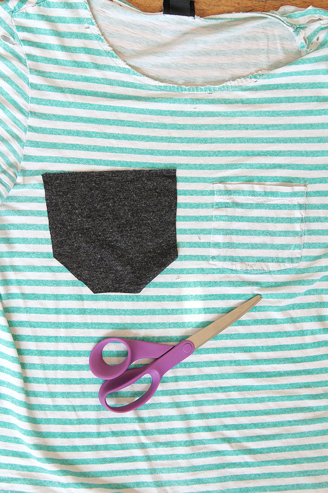 Use your old shirt to make a new one without having to rip it up!