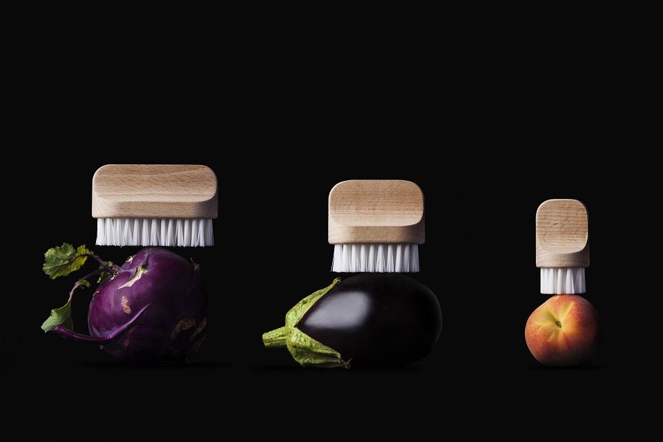 Szczotki do czyszczenia warzyw i owoców