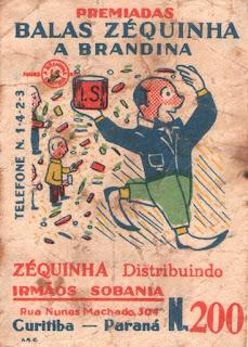 Figurinha número 200 das Balas Zéquinha