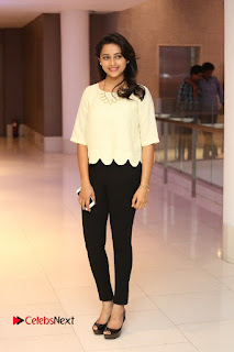 Actress Sri Divya Pictures in Jeans at Rayudu Movie Team Interview 0126
