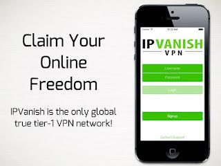Aplikasi VPN IPVanish