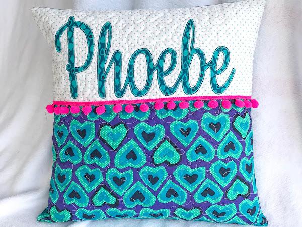 Custom Applique Pillows
