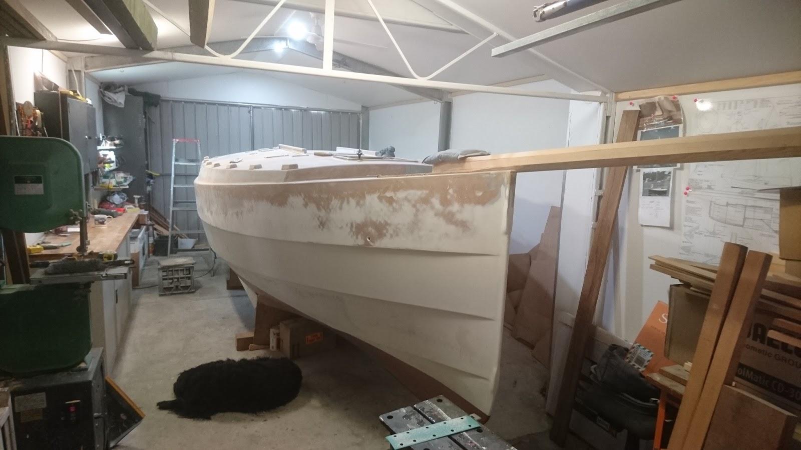 Dudley dix yacht design Richard woods designs