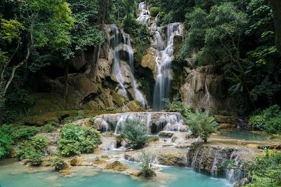 Kuang Si Falls Main Waterfall