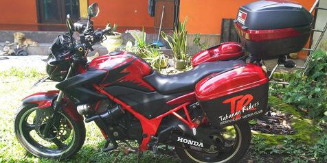 Upgrade Sendiri Honda Cb150R Jadi Motor Touring