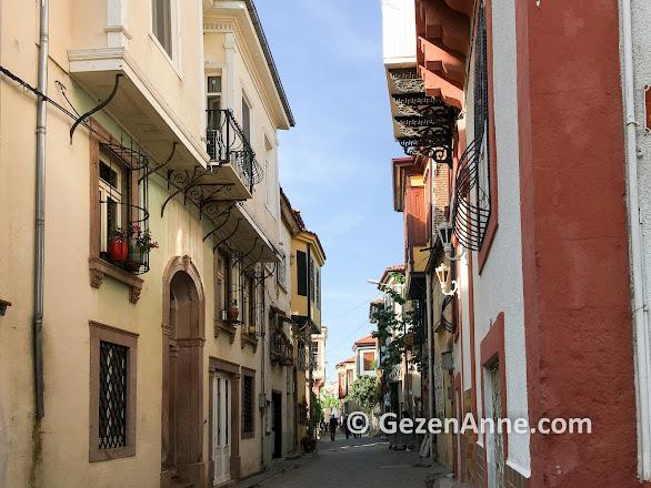 Ayvalık'ın tarihi evleri ve sokakları, Balıkesir