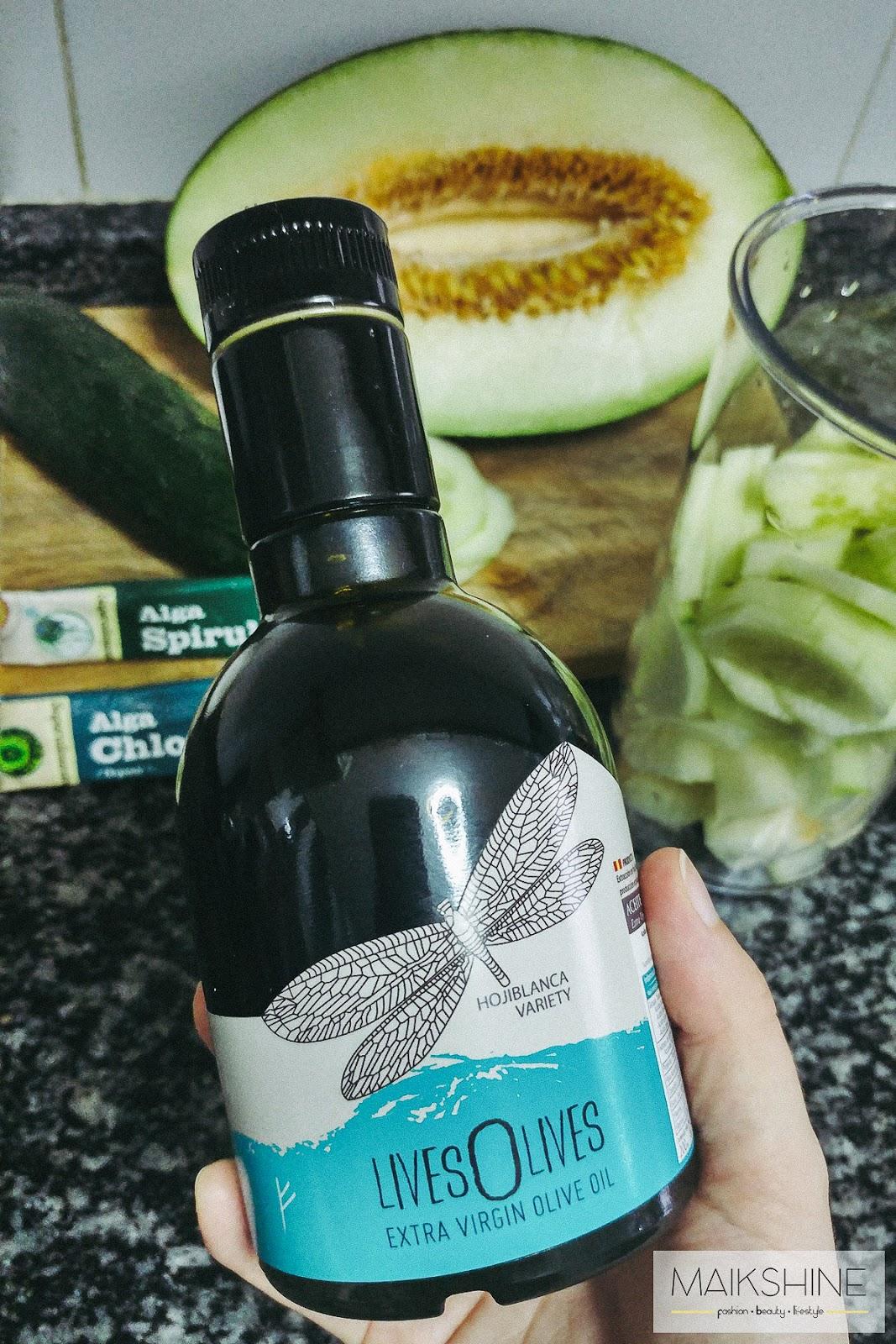 Aceite de Oliva virgen Extra ecológico LivesOlives