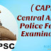 CAPF Previous year Question Paper & sample paper pdf in (Hindi, English)