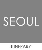 Itinerary-Seoul