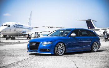 Wallpaper: Car. Airplanes. Tuning. AUDI A4 AVANT