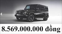 Giá xe Mercedes G500