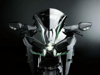 Gambar motor Kawasaki baru