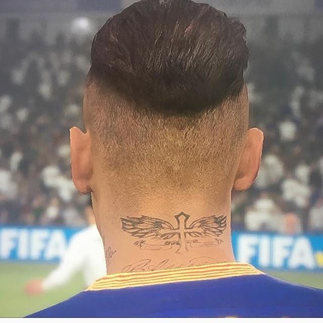 A Face Do Neymar Finalmente Foi Modificada Por Conta Contrato Barcelona Com Konami Nao E Possivel Que EA Escaneie Jogador Brasileiro