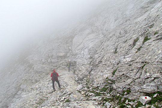 Na stoku Bajuwi Dupki (Баюви Дупки, 2820 m n.p.m.).