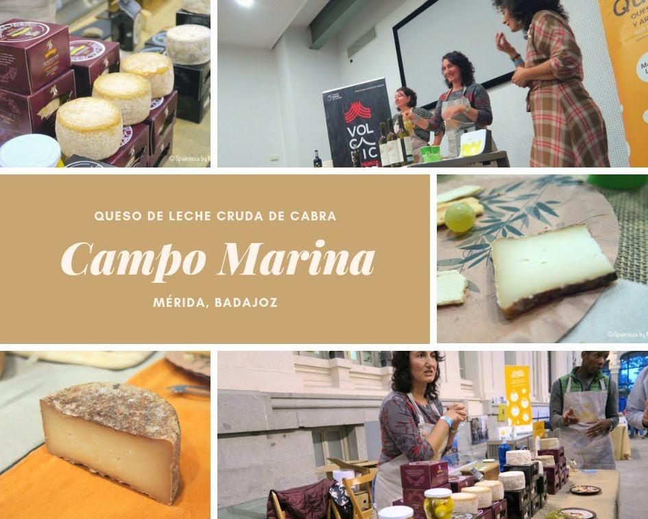 Campo Marina カンポ・マリナ スペインのバダホス産の自然派チーズ