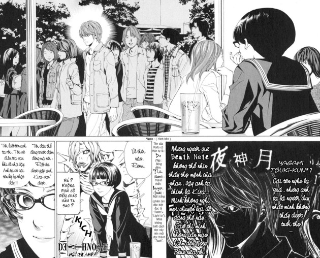 Death Note chapter 028 trang 22