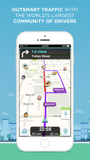 Waze Screenshot - Outsmart Traffic with the World's Largest Coomunity of Drivers