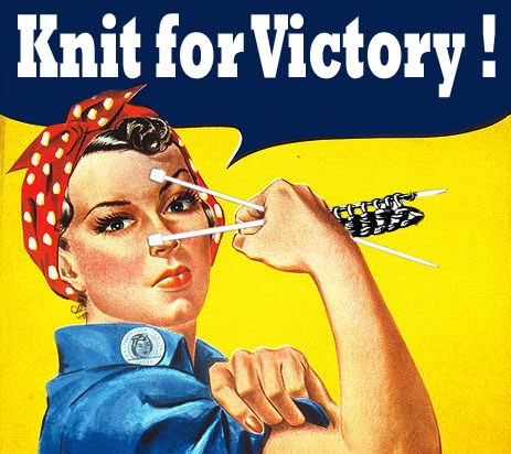 hollylucienne: 'knit for victory!' and other retro gems