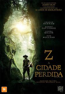 Z: A Cidade Perdida - BDRip Dual Áudio