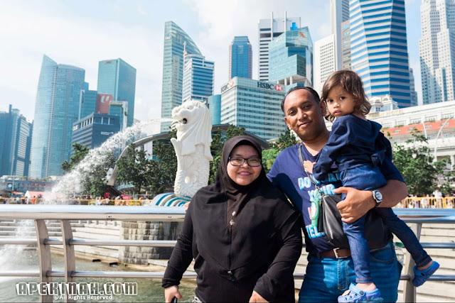 Singapore Trip: Merlion Park