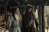 Kaya Scodelario and Johnny Depp in Pirates of the Caribbean: Dead Men Tell No Tales (31)