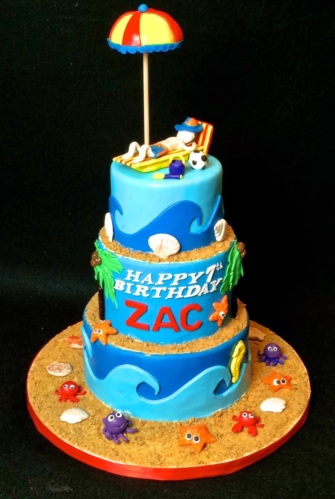 Teddy Bears Picnic Themed Cake Inside Is A Rainbow White