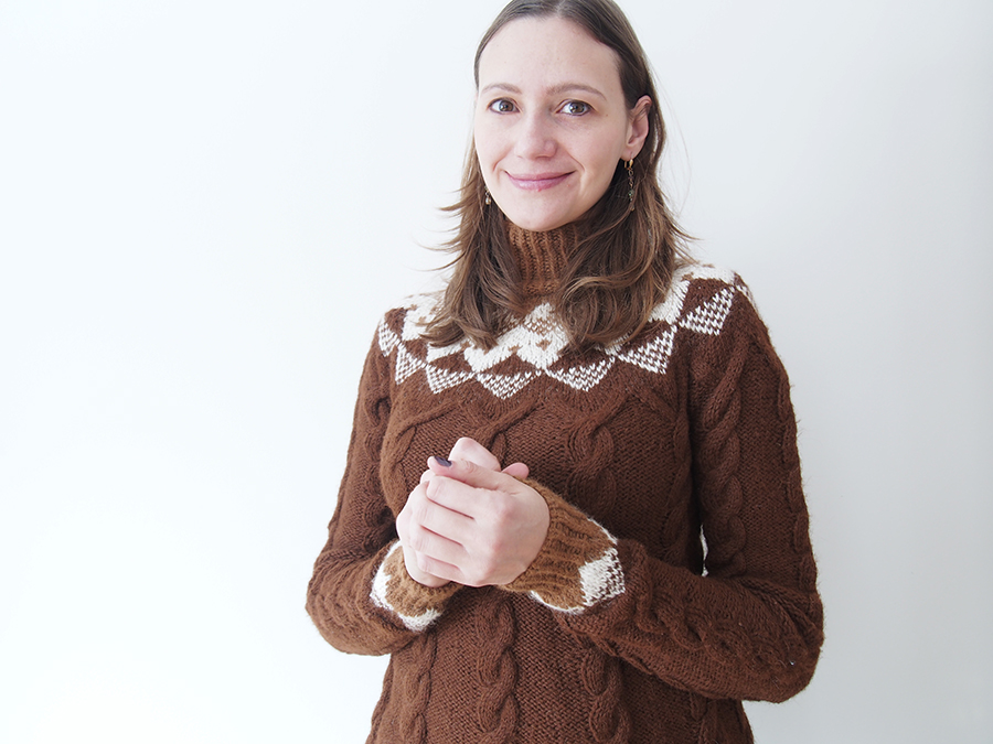 Nordic Tradition from Vogue Knitting, knit by Dayana Knits