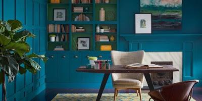 Trend Warna Untuk Interior Ditahun 2018 Yang Mengejutkan