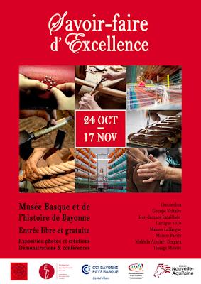 Exposition Savoir-faire d'excellence Bayonne 2017