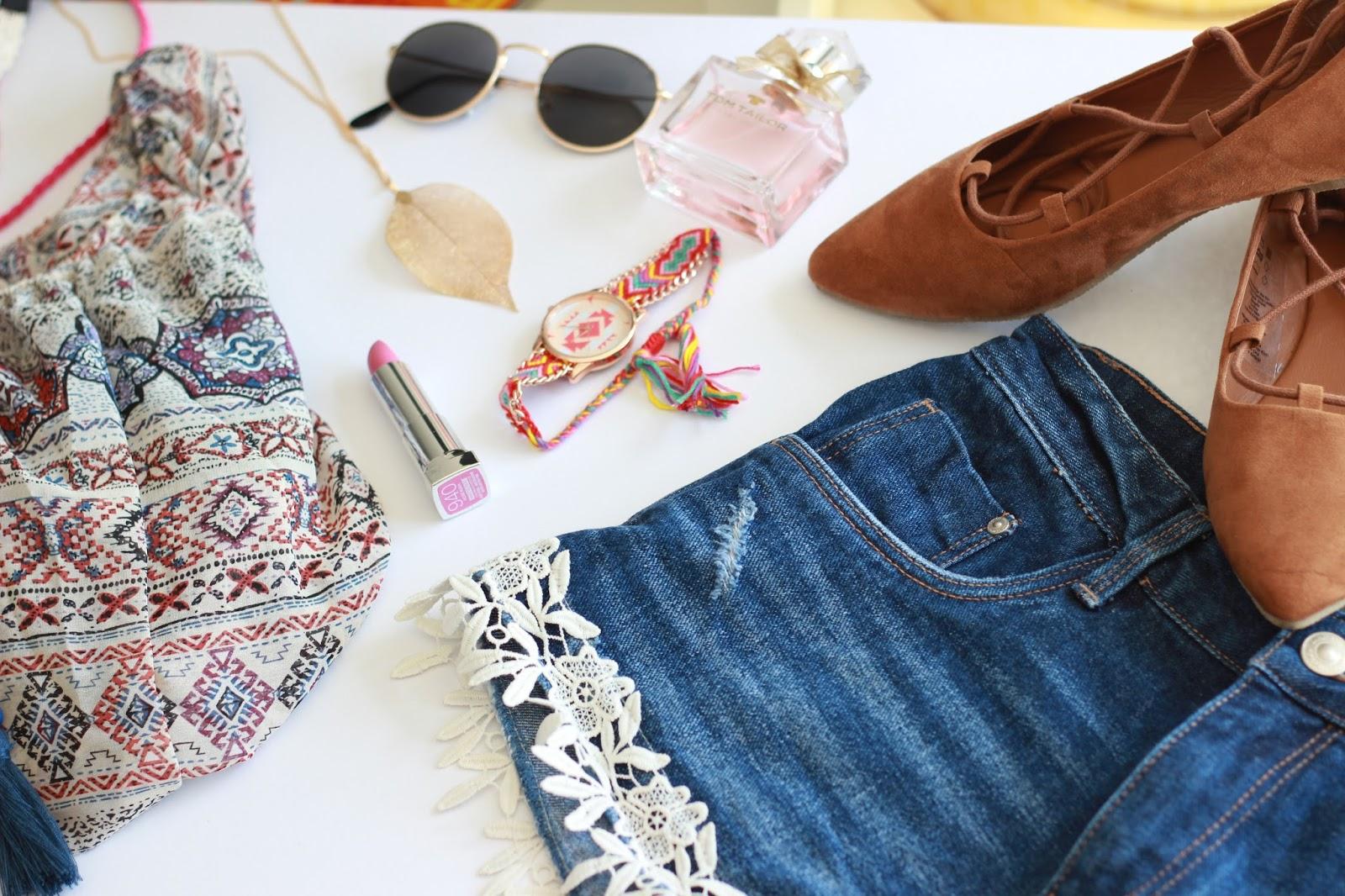 Details für den Sommer - Bluse mit Blumenprint - Blumenprint Bluse - My Colloseum - Fashionstylebyjohanna
