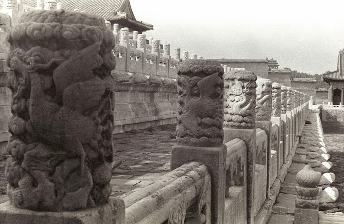 Pékin, Beijing, Palais Impérial,Cité interdite, Palais de Harmonie Suprême, © L. Gigout, 1990