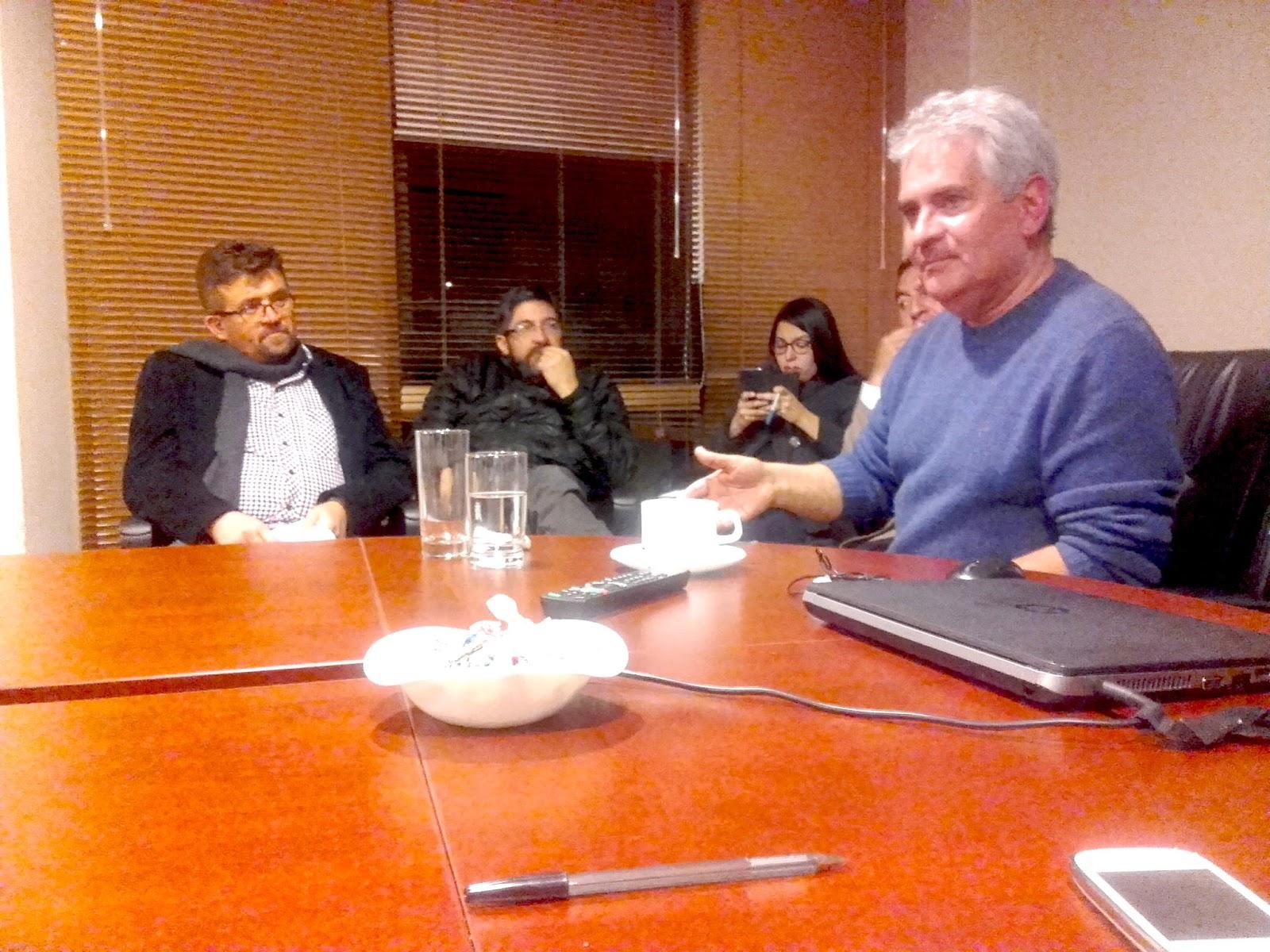 Conversatorio sobre el TIPNIS con Roger Córtez