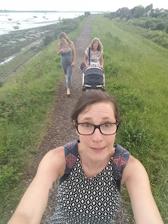 Evening walk with my Mum, Sister and Nephew