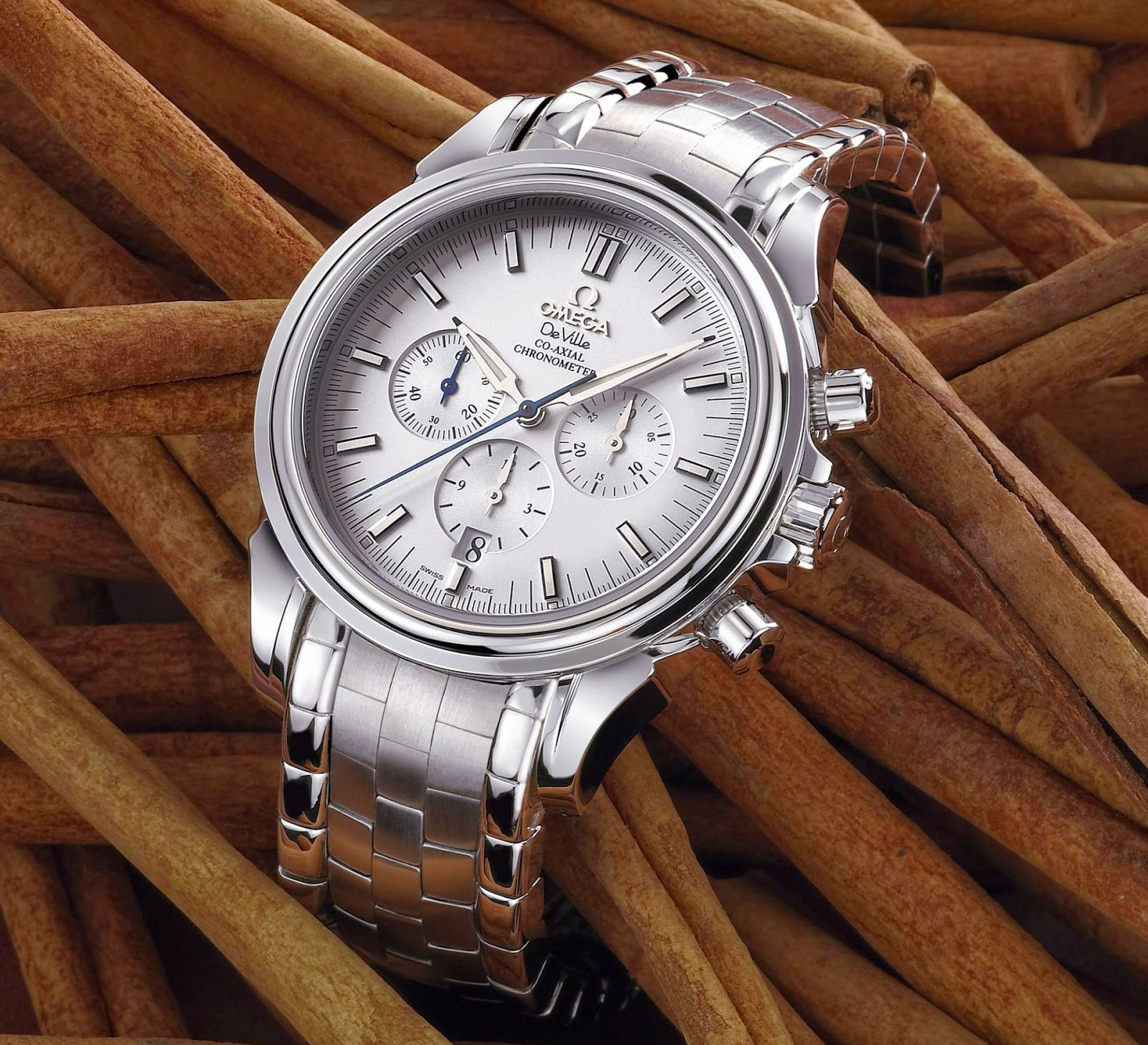 OMEGA De Ville Co-Axial Chronograph: The First Chronograph in the World with a Co-Axial Escapement