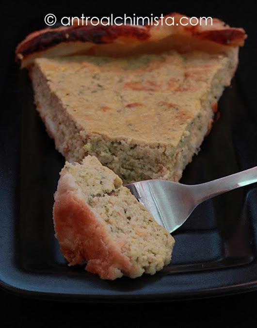 Torta Salata con Broccoletti, Ricotta e Salsiccia