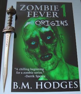Portada del libro Zombie Fever 1: Origins, de B. M. Hodges