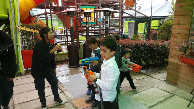 Actividades fiesta zombie cumpleaños campestre Bogota