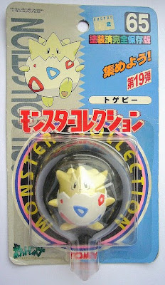 Togepi Pokemon figure Tomy Monster Collection series