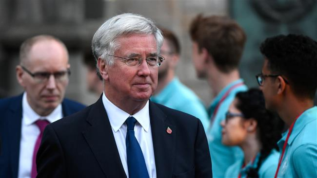 UK Defense Secretary Michael Fallon warns of dangers of 'miscalculation' in North Korea standoff