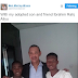 Senator Ben Bruce shares photo with his adopted son and friend